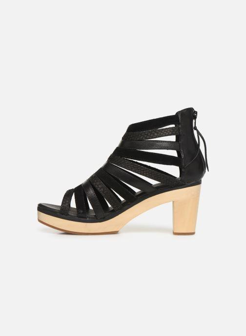 Sandales et nu-pieds Flipflop kumari Noir vue face
