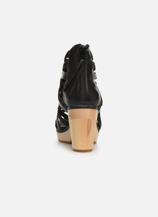 Sandali e scarpe aperte Flipflop kumari Nero immagine destra