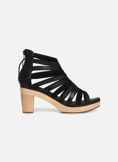 Sandales et nu-pieds Flipflop kumari Noir vue derrière