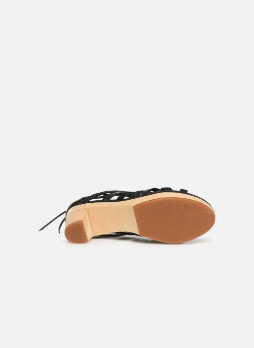 Sandales et nu-pieds Flipflop kumari Noir vue haut