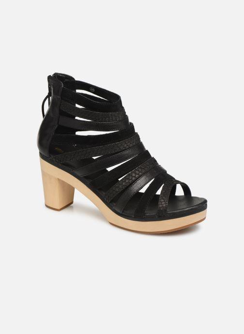 Sandales et nu-pieds Flipflop kumari Noir vue détail/paire