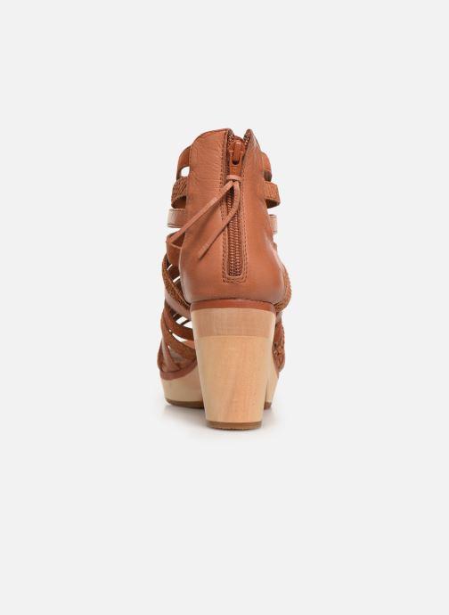 Sandales et nu-pieds Flipflop kumari Marron vue droite