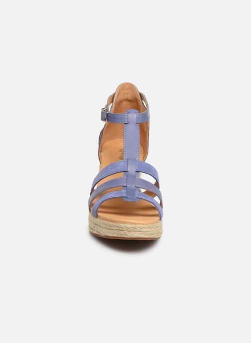 Sandales et nu-pieds Flipflop coconut Bleu vue portées chaussures