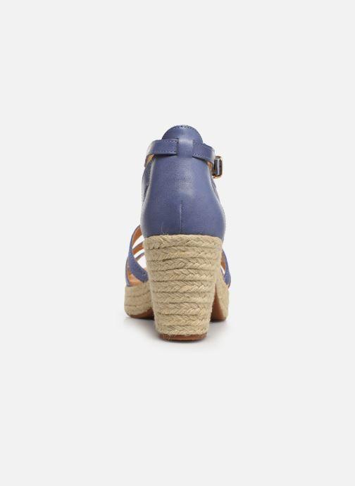 Sandalen Flipflop coconut Blauw rechts