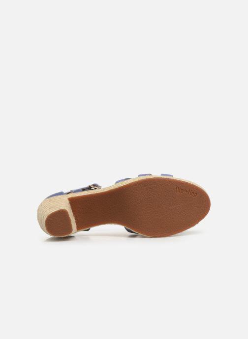 Sandales et nu-pieds Flipflop coconut Bleu vue haut