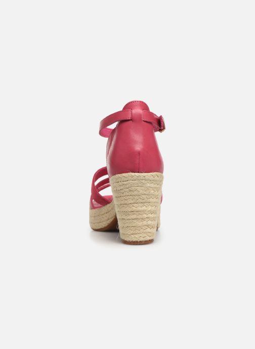 Sandales et nu-pieds Flipflop coconut Rose vue droite