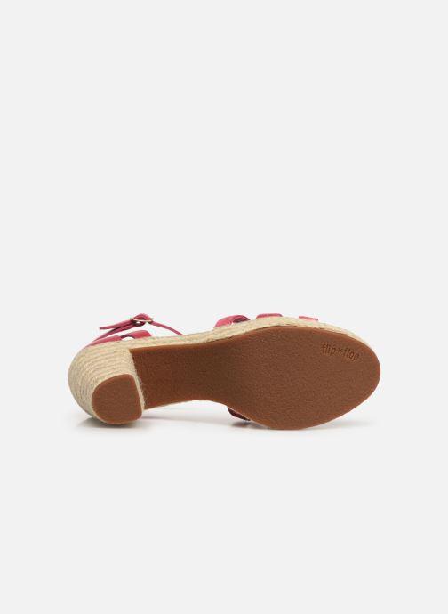 Sandales et nu-pieds Flipflop coconut Rose vue haut