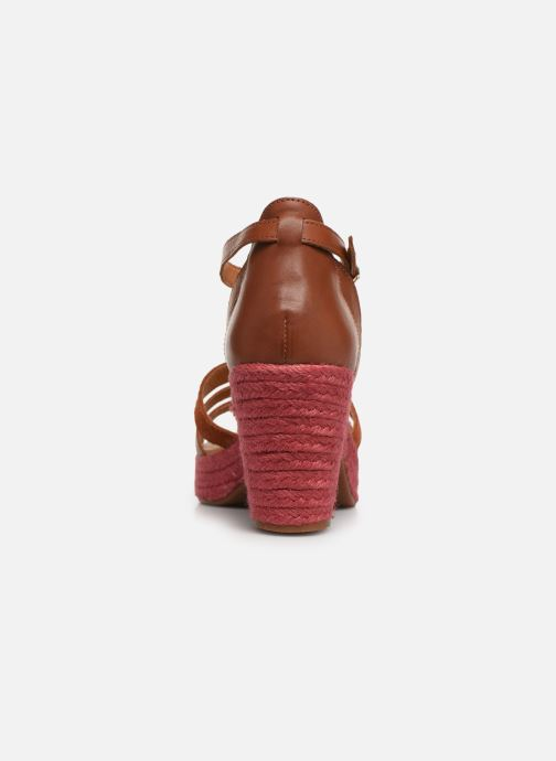 Sandales et nu-pieds Flipflop coconut Marron vue droite