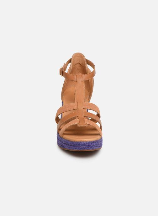 Sandales et nu-pieds Flipflop coconut Marron vue portées chaussures