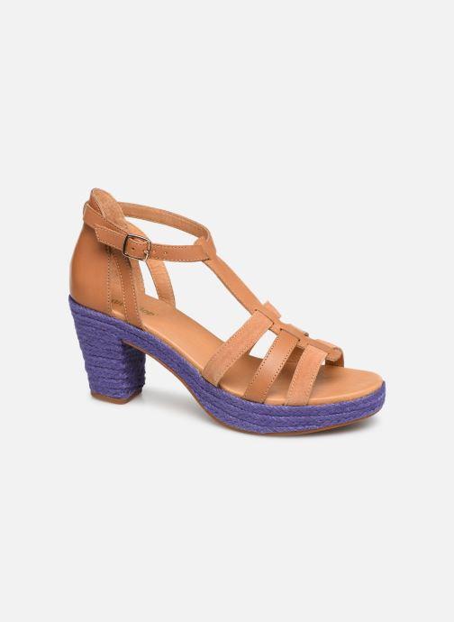 Sandales et nu-pieds Flipflop coconut Marron vue détail/paire