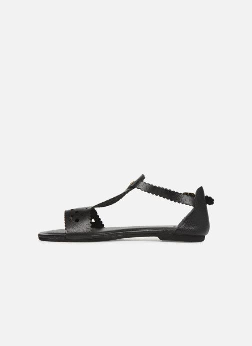 Sandales et nu-pieds Flipflop maya Noir vue face