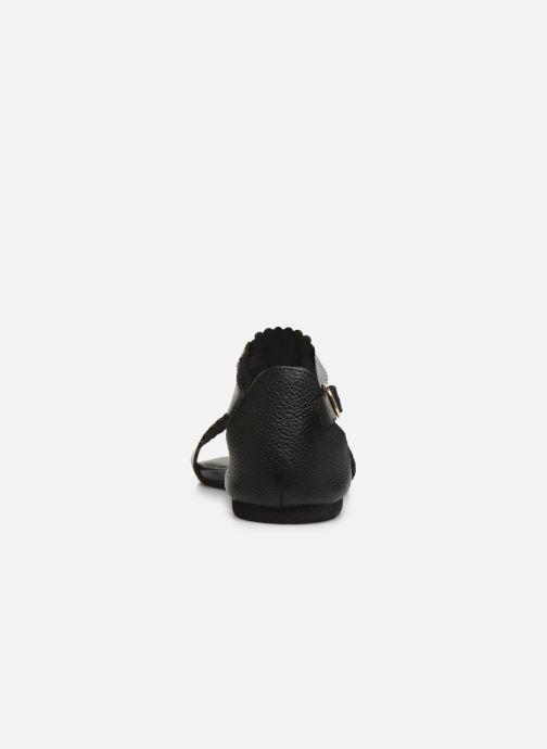 Sandales et nu-pieds Flipflop maya Noir vue droite
