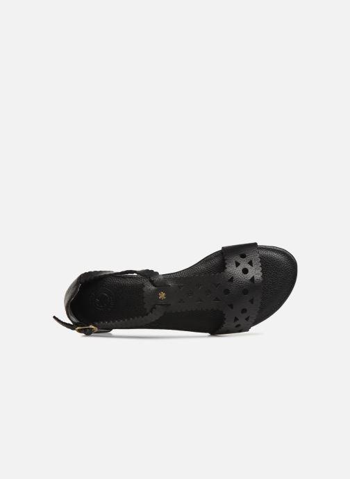 Sandales et nu-pieds Flipflop maya Noir vue gauche