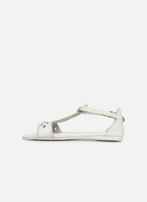 Sandales et nu-pieds Flipflop maya Blanc vue face