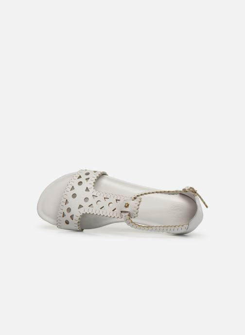 Sandales et nu-pieds Flipflop maya Blanc vue gauche