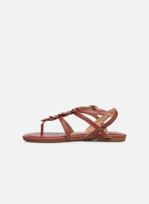 Sandales et nu-pieds Flipflop flor Marron vue face