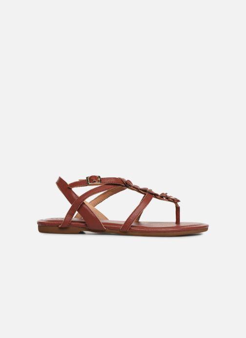 Sandali e scarpe aperte Flipflop flor Marrone immagine posteriore