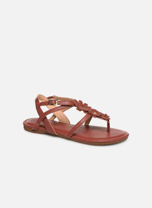 Sandales et nu-pieds Flipflop flor Marron vue détail/paire