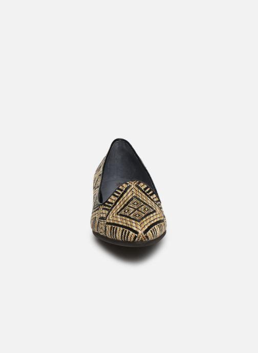 Mocassins Flipflop tula Noir vue portées chaussures