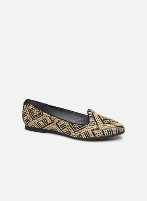 Loafers Flipflop tula Sort detaljeret billede af skoene