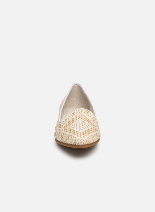 Mocassins Flipflop tula Blanc vue portées chaussures