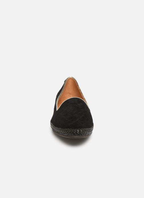 Mocassins Flipflop chili Noir vue portées chaussures