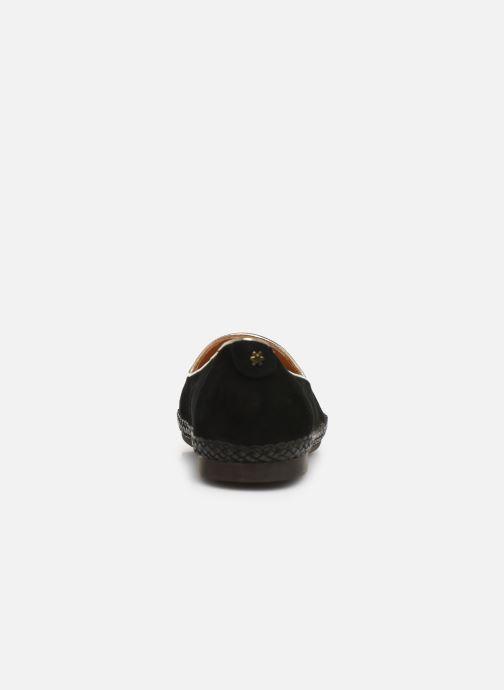 Mocassins Flipflop chili Noir vue droite