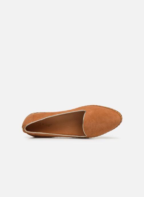Loafers Flipflop chili Brun se fra venstre