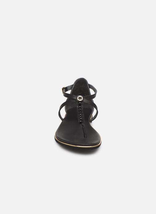 Sandales et nu-pieds Flipflop puebla pearls Noir vue portées chaussures