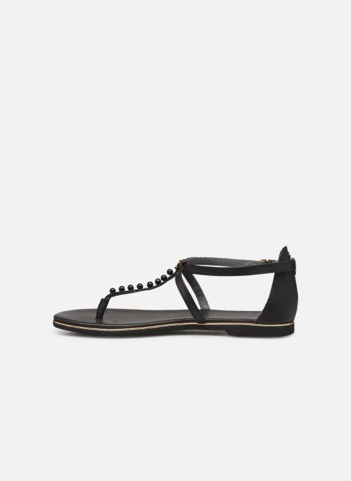 Sandales et nu-pieds Flipflop puebla pearls Noir vue face
