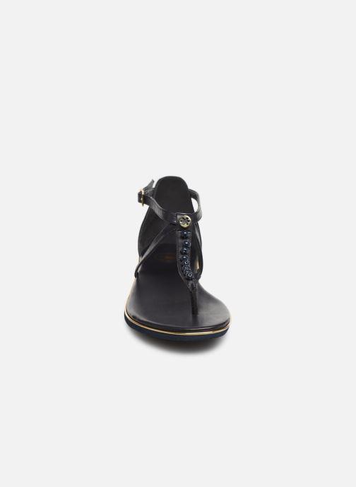 Sandales et nu-pieds Flipflop puebla pearls Bleu vue portées chaussures