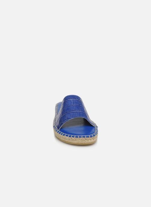 Mules et sabots TBS Antibes Bleu vue portées chaussures
