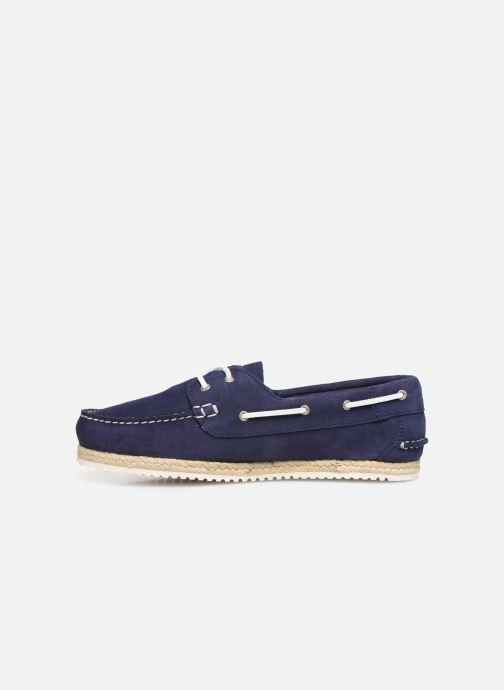 Zapatos con cordones TBS Macaron Azul vista de frente