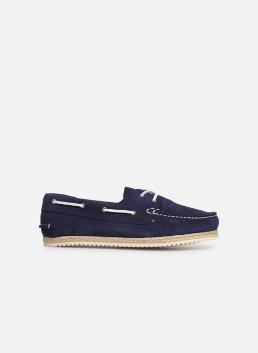Lace-up shoes TBS Macaron Blue back view