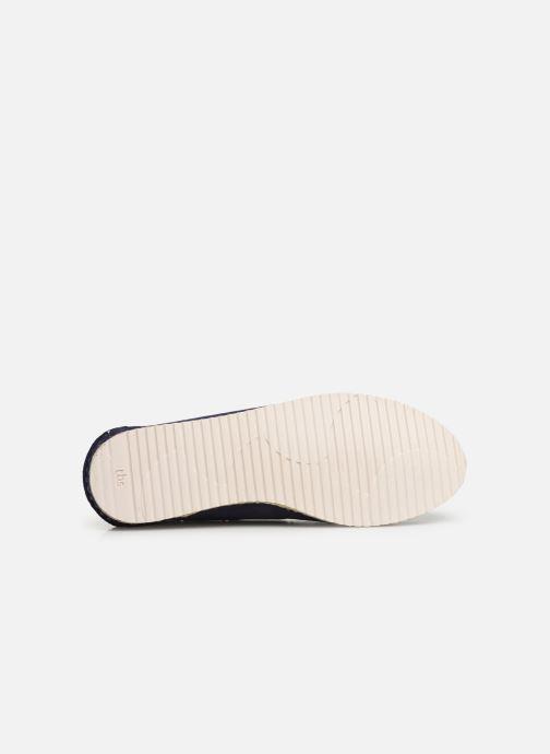 Zapatos con cordones TBS Macaron Azul vista de arriba