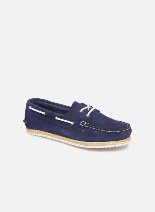 Lace-up shoes TBS Macaron Blue detailed view/ Pair view