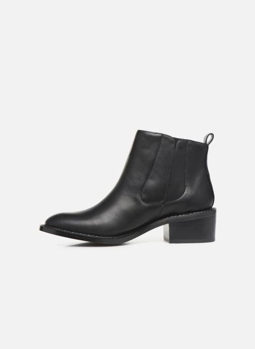 Bottines et boots Chattawak BIANCA Noir vue face