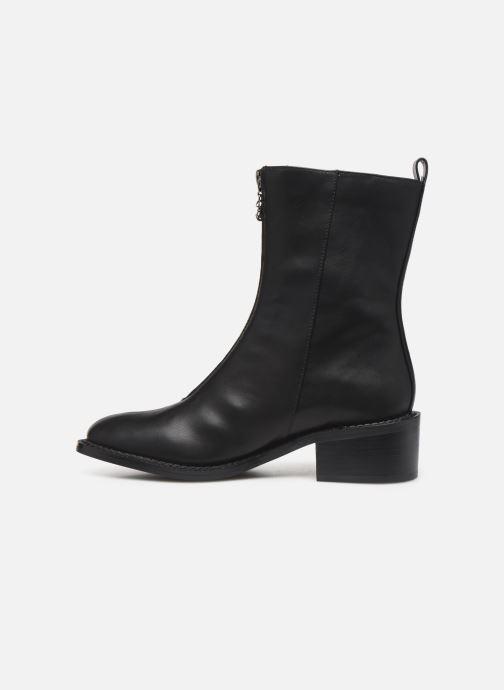 Boots en enkellaarsjes Chattawak BRENDA Zwart voorkant