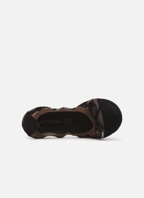 Ballerina's Chattawak CAPRICE Goud en brons links