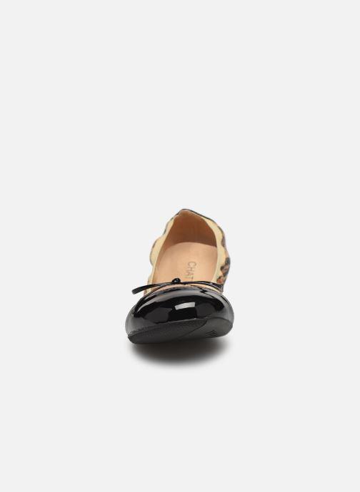 Ballerines Chattawak CAPRICE Beige vue portées chaussures