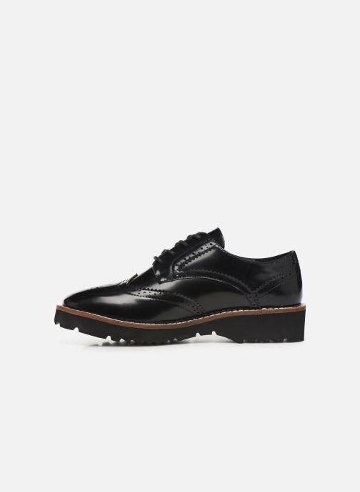 Zapatos con cordones Chattawak CARLA Negro vista de frente