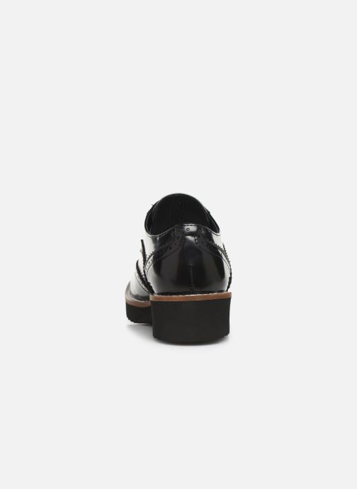 Zapatos con cordones Chattawak CARLA Negro vista lateral derecha