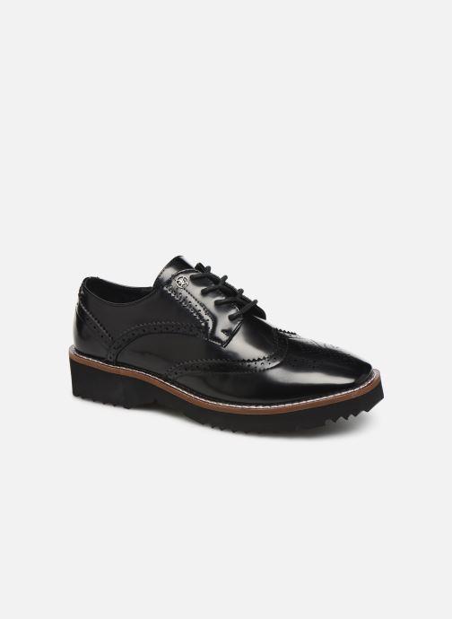 Zapatos con cordones Chattawak CARLA Negro vista de detalle / par
