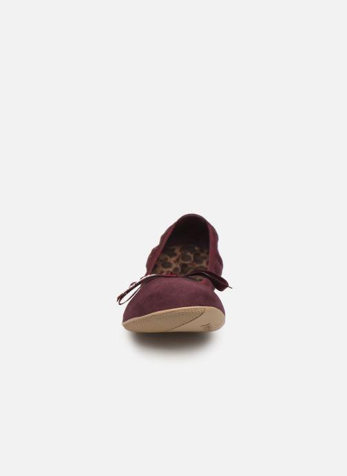 Ballerines Chattawak ELLA Bordeaux vue portées chaussures