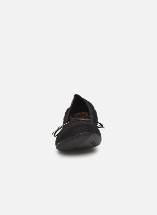 Ballerines Chattawak ELLA Noir vue portées chaussures