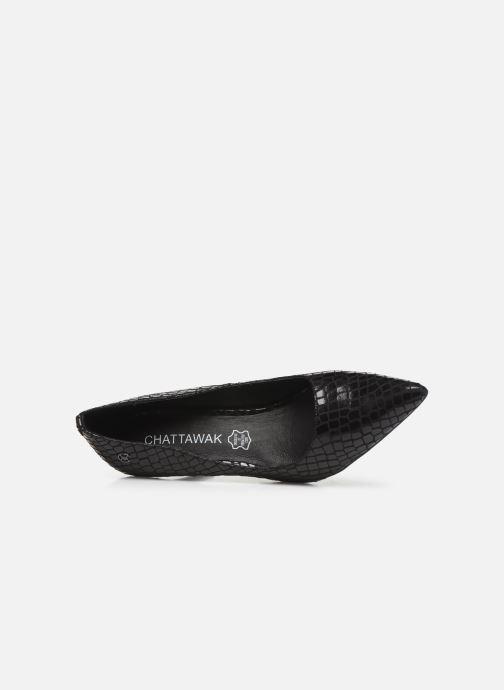 Zapatos de tacón Chattawak LOLA Negro vista lateral izquierda