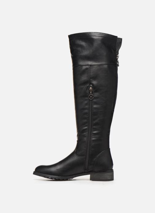 Stiefel Chattawak MORGANE schwarz ansicht von vorne
