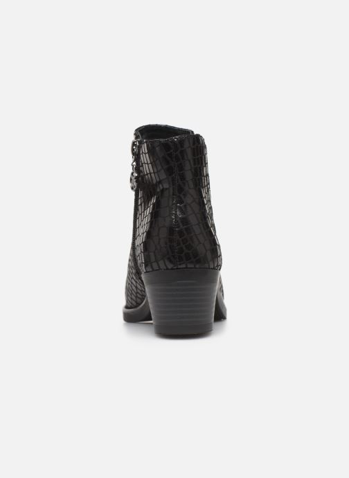Bottines et boots Chattawak THEA Noir vue droite