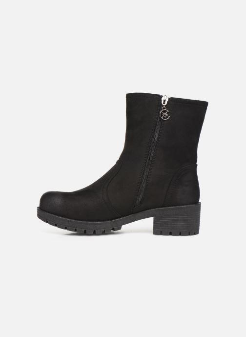 Boots en enkellaarsjes Chattawak TILDA Zwart voorkant