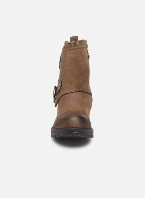 Bottines et boots Chattawak TINA Marron vue portées chaussures